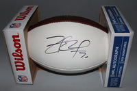 NFL - COWBOYS ZACH MARTIN SIGNED PANEL BALL