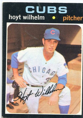 Photo of 1971 Topps #248 Hoyt Wilhelm -- Hall of Fame Class of 1985
