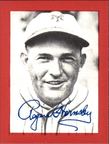Photo of 1977 Shakey's Pizza #14 Rogers Hornsby