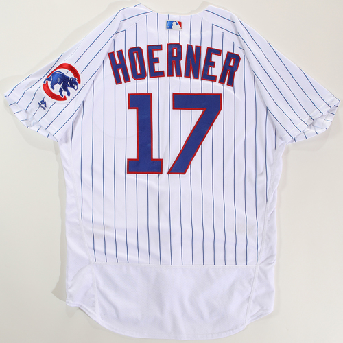 Photo of 2018 Arizona Fall League Game-Used Jersey - Nico Hoerner -Size 46