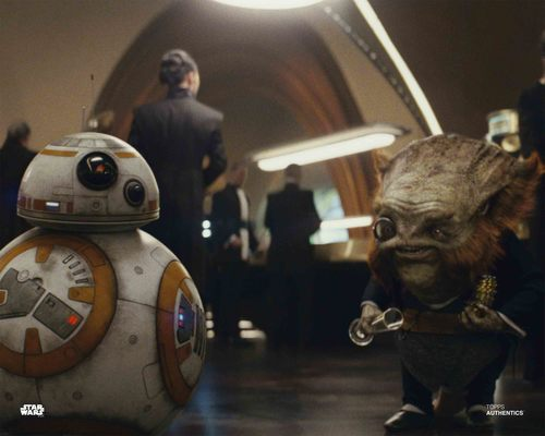 Dobbu Scay and BB-8