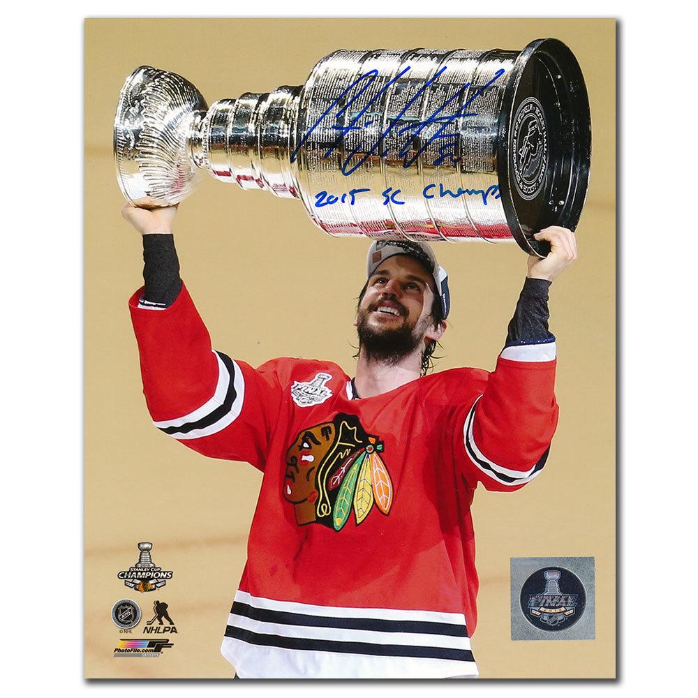 Antoine Vermette Chicago Blackhawks 2015 Stanley Cup Autographed 8x10