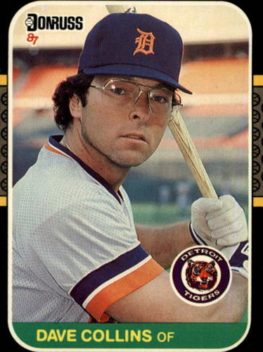 Photo of 1987 Donruss #215 Dave Collins