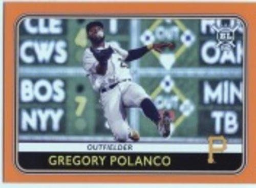 Photo of 2020 Topps Big League Orange #224 Gregory Polanco