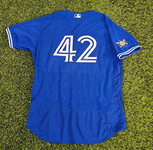 Photo of CHARITY AUCTION: Authenticated Game Used #42 Jersey: John Schneider (Aug 28, 20). Size 52.