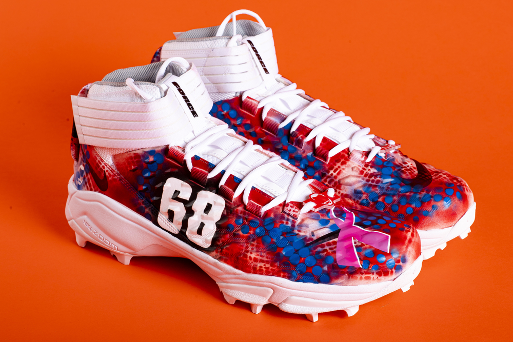 My Cause My Cleats - Browns Michael Dunn - Supporting Johns Hopkins Breast Cancer Center