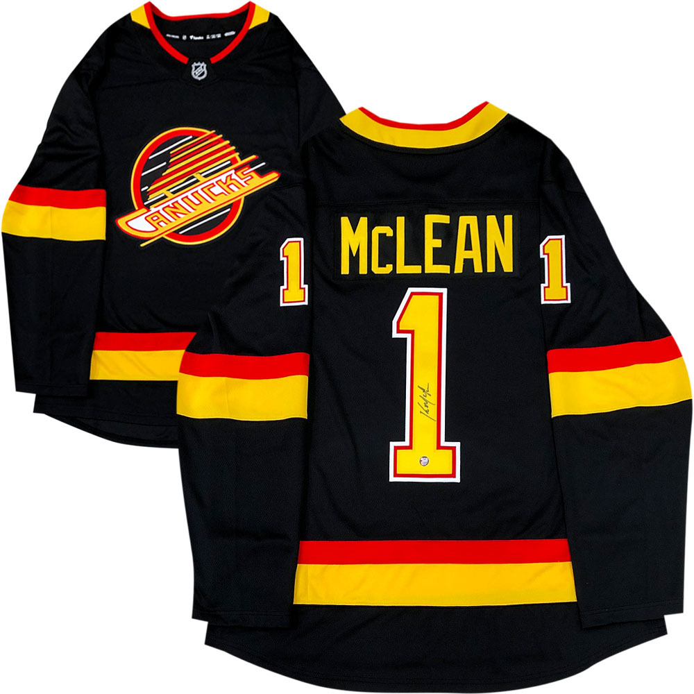 Kirk McLean Autographed Vancouver Canucks Fanatics Jersey
