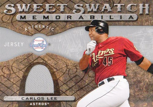 Photo of 2009 Sweet Spot Swatches #CL Carlos Lee