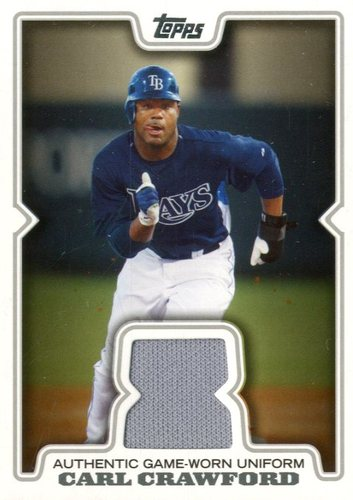Photo of 2008 Topps Retail Relics #CDC Carl Crawford
