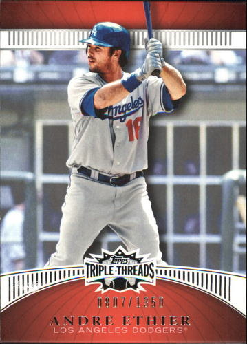 Photo of 2010 Topps Triple Threads #42 Andre Ethier