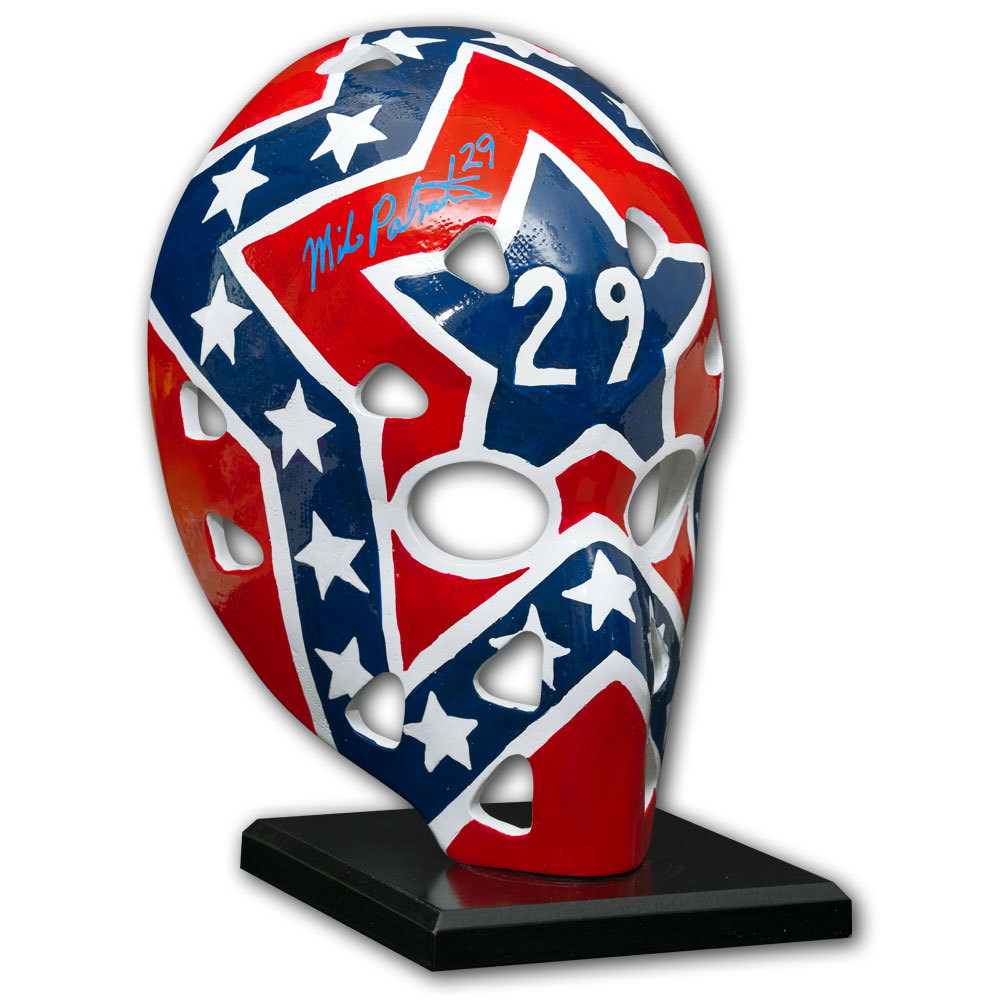 Mike Palmateer Washington Capitals Autographed Full Size Mask