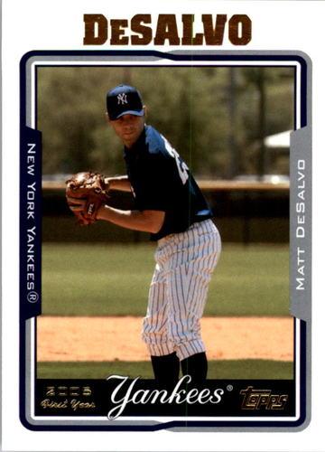 Photo of 2005 Topps #307 Matt DeSalvo FY RC