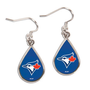 Toronto Blue Jays Tear Drop Earrings by WinCraft