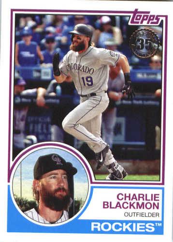 Photo of 2018 Topps '83 Topps #8327 Charlie Blackmon