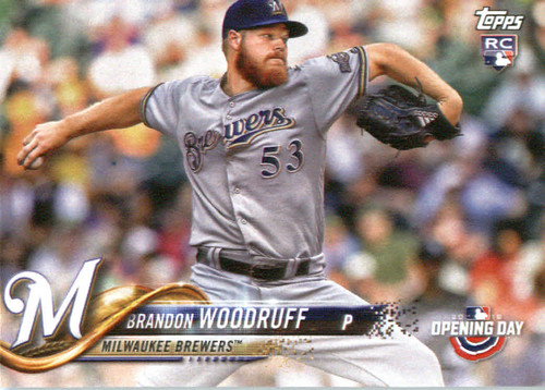 Photo of 2018 Topps Opening Day #122 Brandon Woodruff