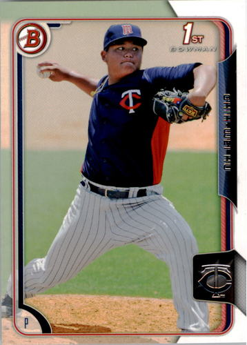 Photo of 2015 Bowman Prospects #BP112 Chih-Wei Hu