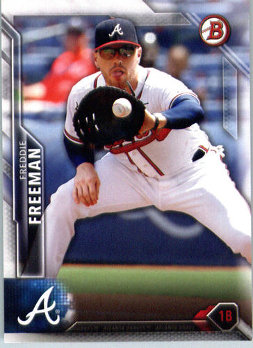 Photo of 2016 Bowman #7 Freddie Freeman
