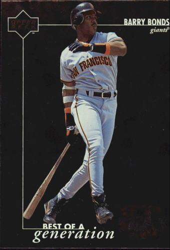 Photo of 1996 Upper Deck #373 Barry Bonds BG