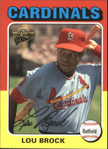 Photo of 2004 Topps All-Time Fan Favorites #95 Lou Brock