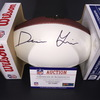 NFL - Redskins Darrius Guice Signed Panel Ball