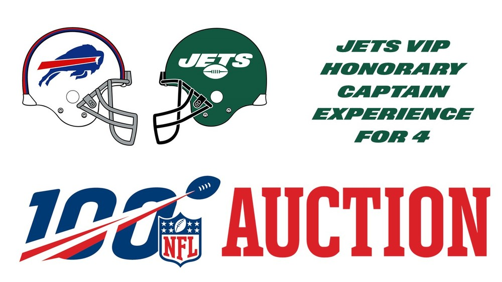 NY Jets - VIP Honorary Captain Experience for 4 vs. Buffalo 9/8/2019