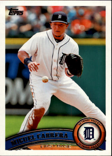 Photo of 2011 Topps #150A Miguel Cabrera