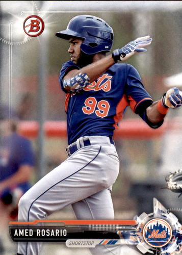Photo of 2017 Bowman Prospects #BP76 Amed Rosario