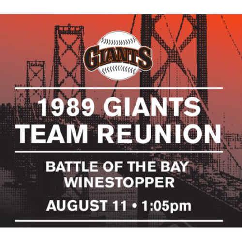 Photo of Giants Wives Auction: Giants 1989 World Series Team Reunion Special Event