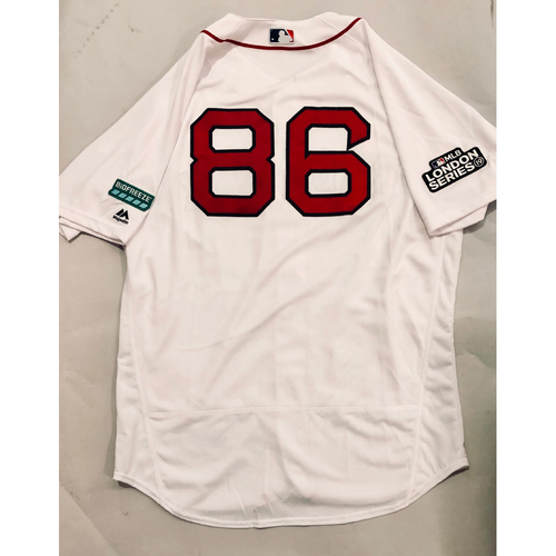 Photo of 2019 London Series - Game-Used Jersey - Brian Bannister, New York Yankees vs Boston Red Sox - 6/29/19