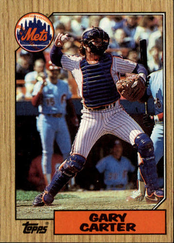 Photo of 1987 Topps #20 Gary Carter