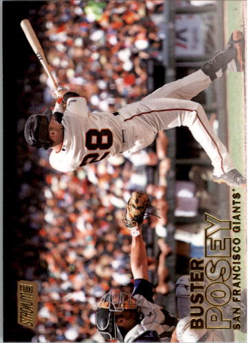 Photo of 2016 Stadium Club Gold #172 Buster Posey
