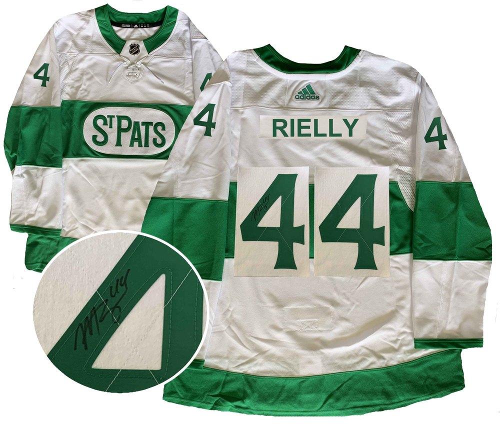 Morgan Rielly Signed Jersey St.Pats Pro White 2019 Adidas