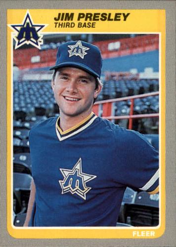 Photo of 1985 Fleer #500 Jim Presley