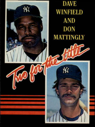 Photo of 1985 Leaf/Donruss #140 Dave Winfield/Don Mattingly/Two for the Title