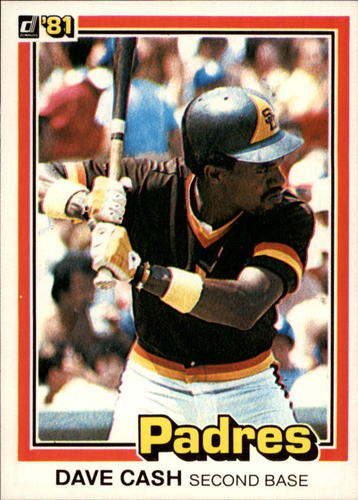 Photo of 1981 Donruss #121 Dave Cash