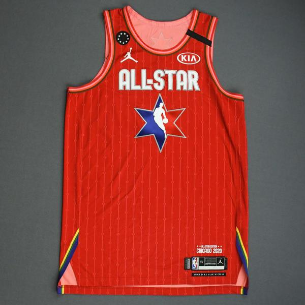 Image of Khris Middleton - 2020 NBA All-Star - Game-Worn Jersey Charity Auction - Team Giannis - 1st and 2nd Quarter