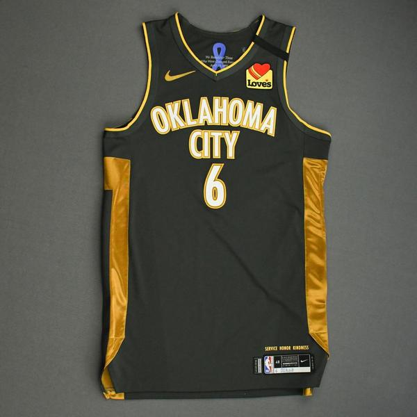 Image of Hamidou Diallo - Oklahoma City Thunder - Game-Worn City Edition Jersey - 2019-20 Season