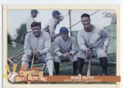 Photo of 2020 Topps Opening Day Spring Has Sprung #SHS1 Babe Ruth