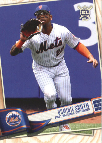 Photo of 2019 Topps Big League #158 Dominic Smith