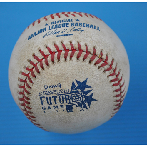 Game-Used Baseball - 2011 All-Star Futures Game - Pitcher - Jarred Cosart, Batter - Starling Marte - Foul - 8th Inning