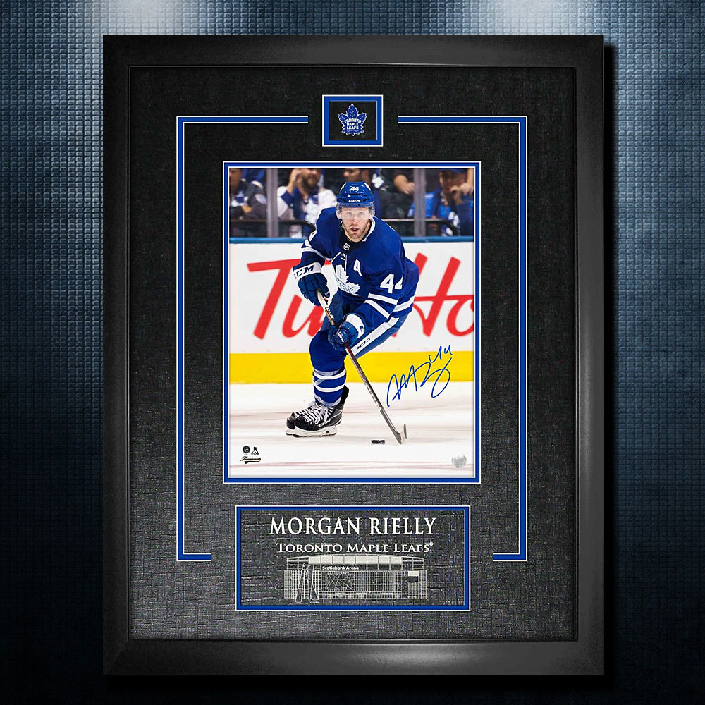 Morgan Rielly Toronto Maple Leafs Autographed 18x22 Frame