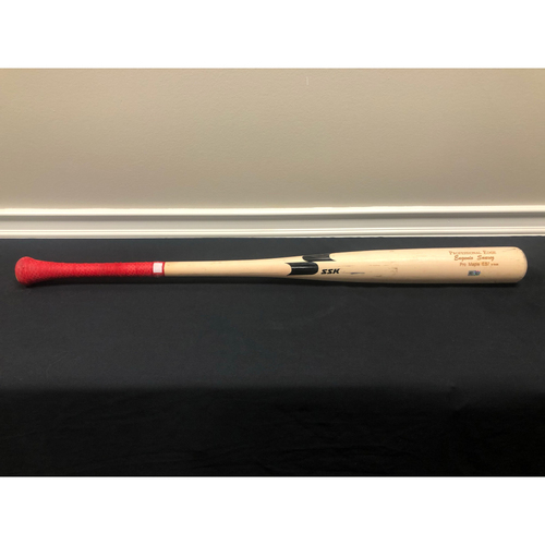 Photo of Eugenio Suarez -- Team-Issued Broken Bat -- 2020 Season