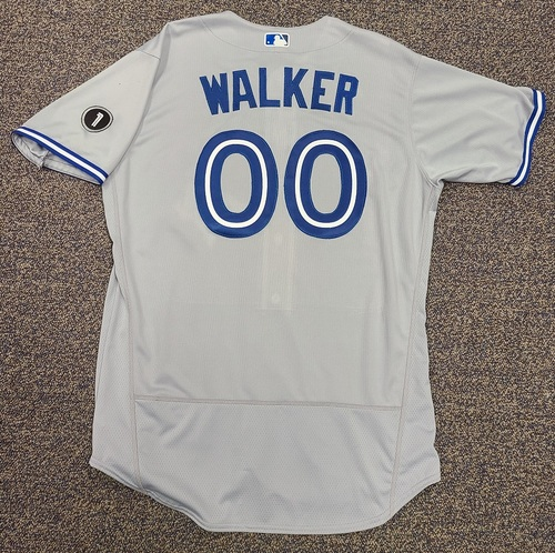 Photo of Authenticated Team Issued Jersey: #00 Taijuan Walker (2020 Season). No Set. Size 48.