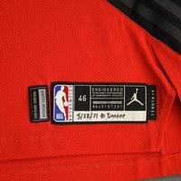Damian Lillard - Portland Trail Blazers - Game-Worn Statement Edition Jersey - Recorded a 34 Point Double-Double - 2021 NBA Playoffs