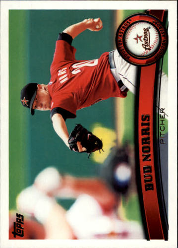 Photo of 2011 Topps #534 Bud Norris