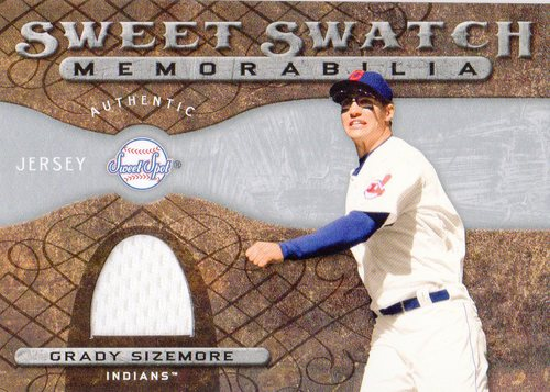 Photo of 2009 Sweet Spot Swatches #GS Grady Sizemore