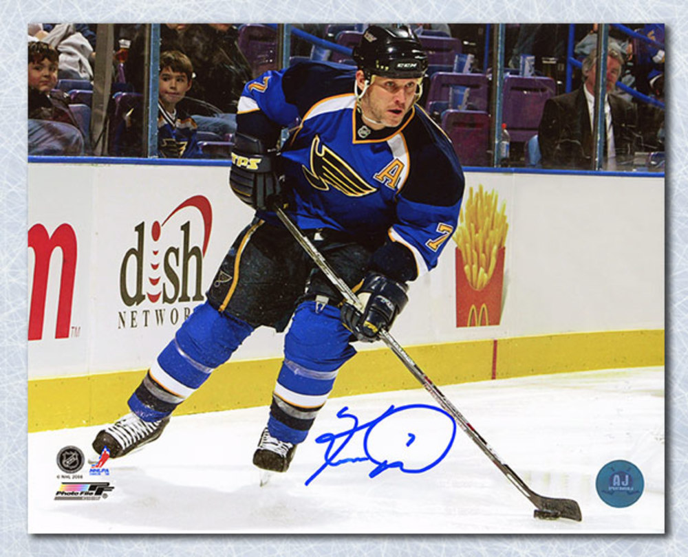 Keith Tkachuk St. Louis Blues Autographed Sniper 8x10 Photo