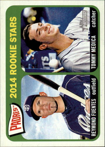 Photo of 2014 Topps Heritage #189 Tommy Medica RC/Reymond Fuentes RC