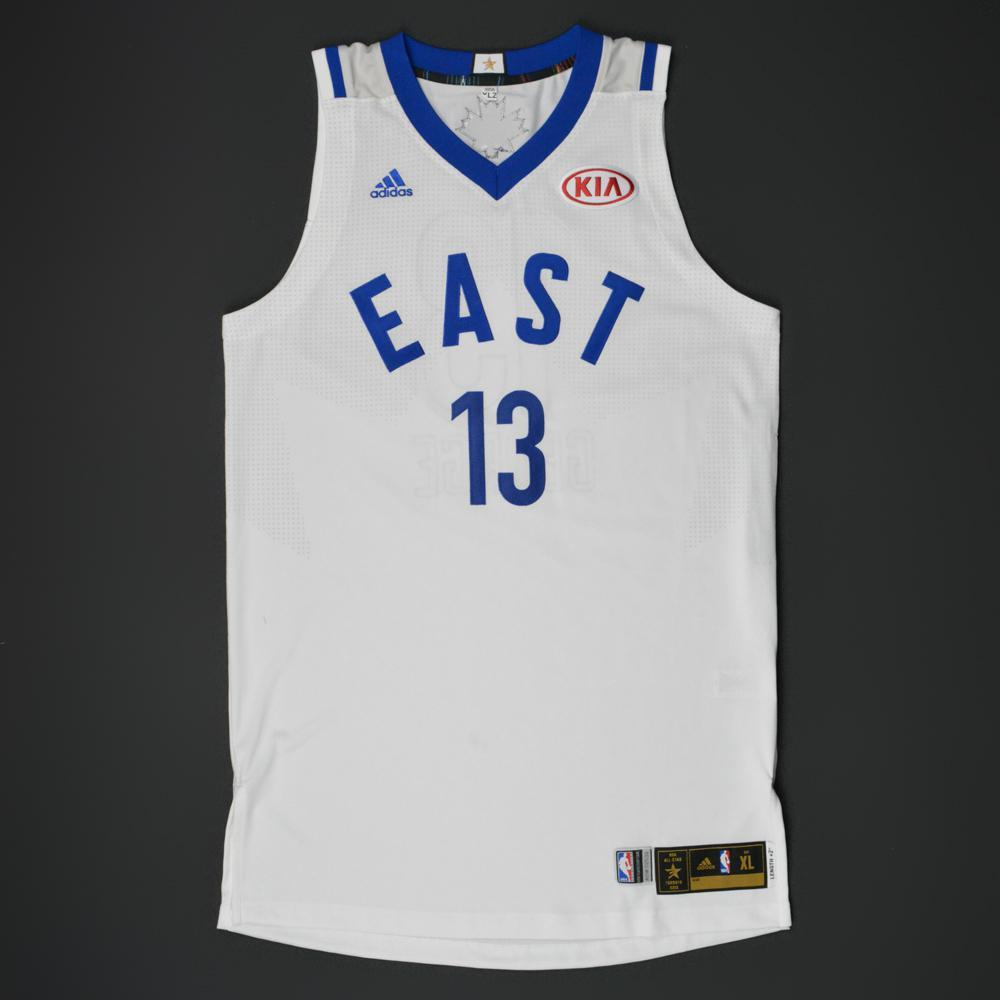 abffdfb1057 coupon code paul george 2016 nba all star eastern conference autographed  jersey e70ff fd69d