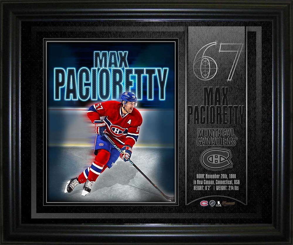 Max Pacioretty - 10x13  Montreal Canadiens Spotlight Collage